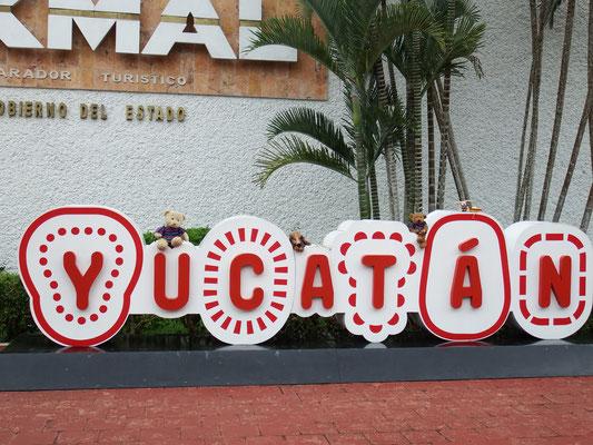 Eingang Uxmal, Yucatán - Mexiko
