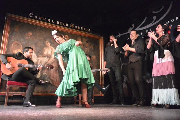 Flamenco im Corral de la Morería, Madrid