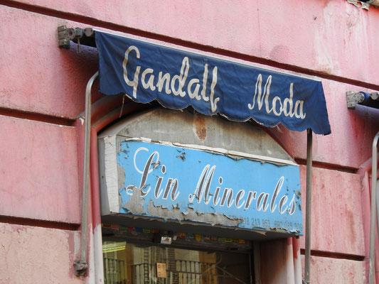 Gandalf? Herr der Ringe in Madrid?