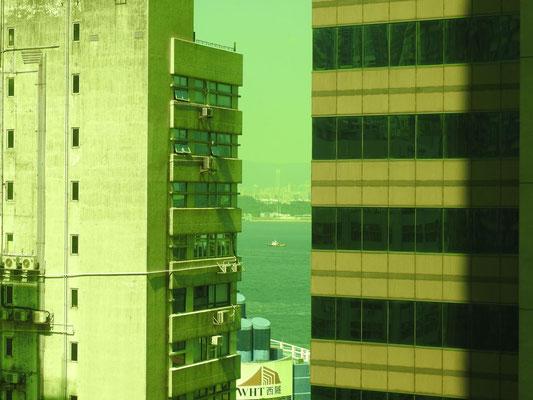 und unser Blick aus unserem Hotelzimmerfenster