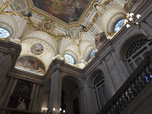 Palacio Real, Madrid, Deckenansicht