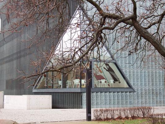 Muzeum Historii Żydów Polskich (Museum der Geschichte der polnischen Juden) in Warschau