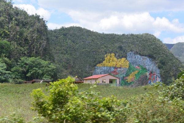Viñales-Tal, Mural de la Prehistoria