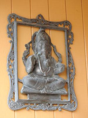 Ganesha, weil doch indischer Forscher im Haus wohnend