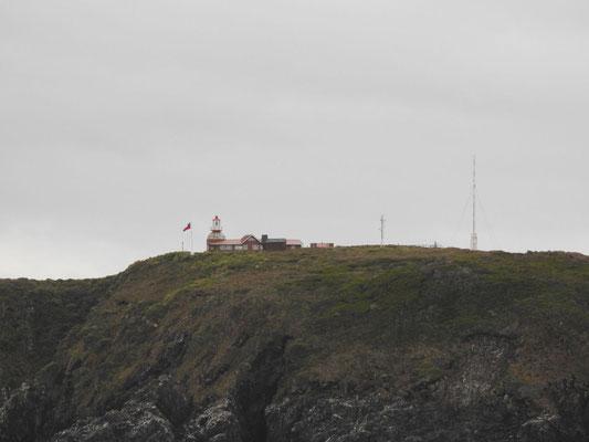 Leuchtturm  auf der Isla Hornos
