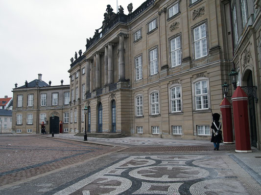Schloss Amalienborg, Kopenhagen