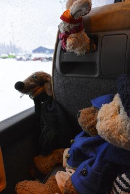 Unser erstes Sightseeing in Lappland.
