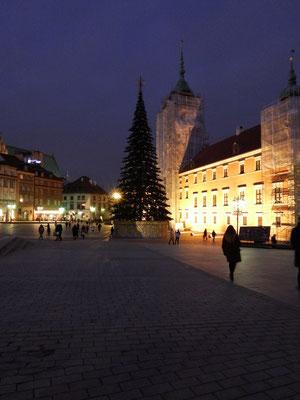 Weihnachtszeit in Warschau