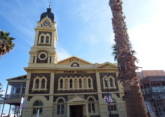 Aha, die Townhall ist australisch heimisch