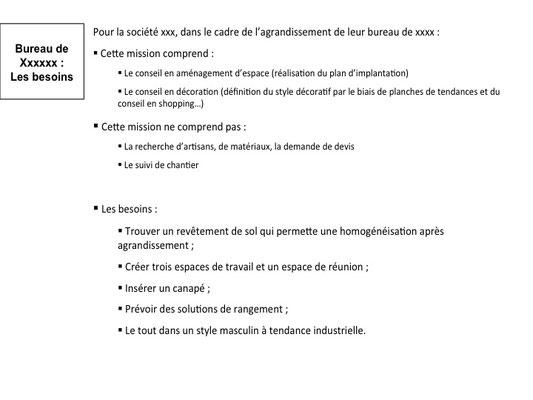Dossier Conseil en décoration pour l'aménagement d'un bureau - Ile de la Réunion 974