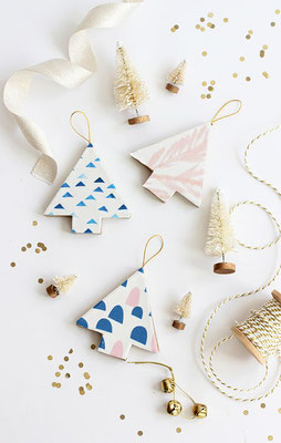 Suspensions en carton DIY par Minted