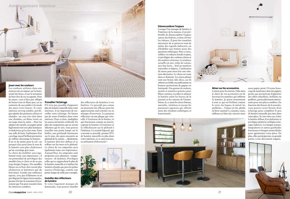 Case Magazine - Interview Christelle Sauger - Agence Tohana