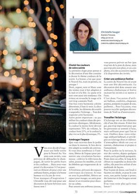 Case Magazine - Agence Tohana