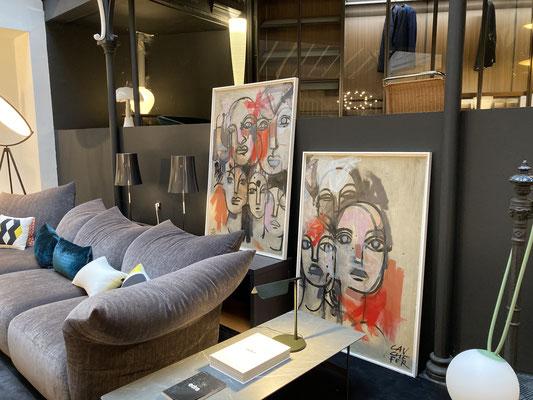 Expositions Agora et espace st Rémi, Bordeaux, Oct/nov 2020