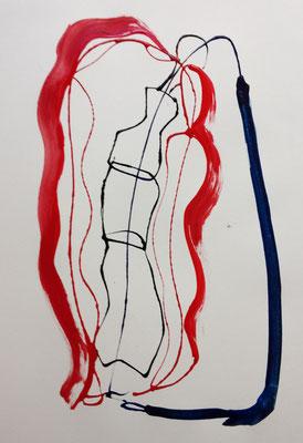 Encre pipette plus acrylique