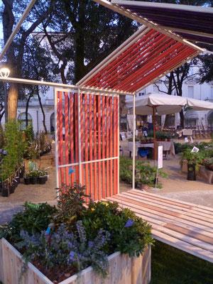 Esposizione a Giardini d'autore - Rimini green 2016