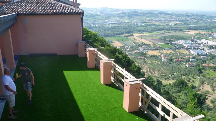 Ristorante La Rocca Verucchio montaggio
