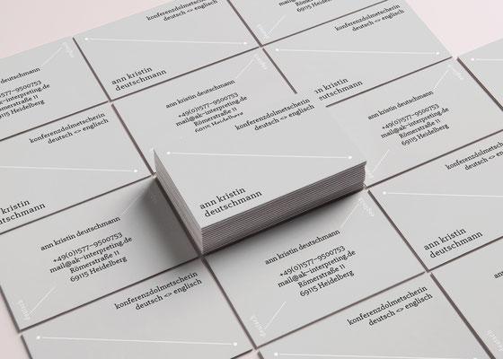 Branding Visitenkarten Pongdesign Designstudio Hannover