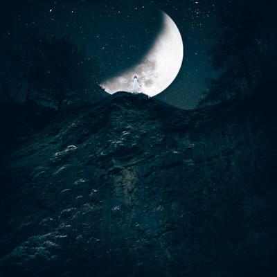 ROVA FineArt Photography - LUNA Series - Ix Chel (Maya) - surreal moon conceptual