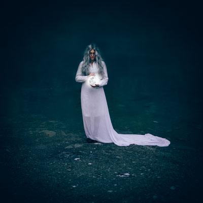 ROVA FineArt Photography - LUNA Series - Selene (Greece) - surreal moon conceptual