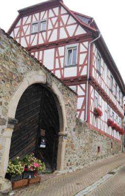 Stadtmauer Zwingenberg