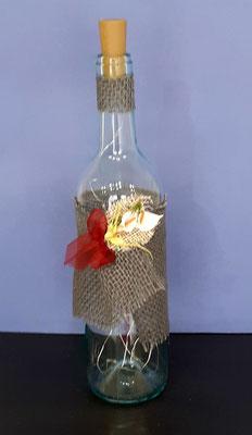 crea-tions46-bouteille lumineuse jute et fleur