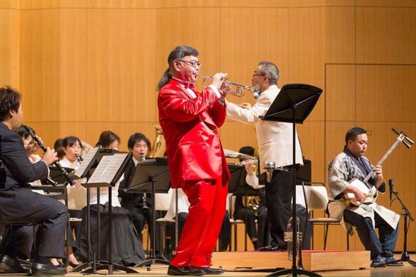 オーケストラ、吹奏楽のソリスト出演