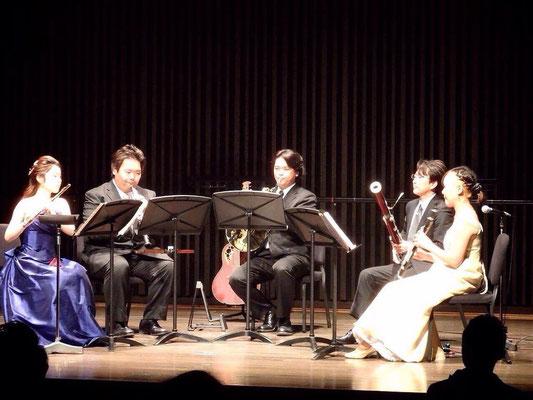 木管五重奏、金管五重奏など