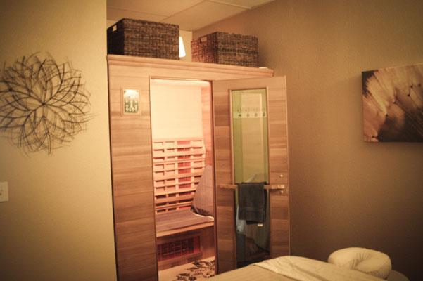 Detoxifying sauna