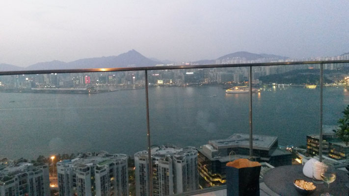 Kowloon, evening view