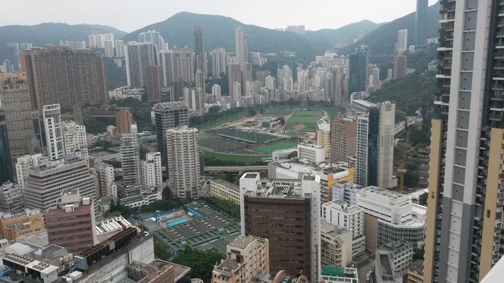 Happy Valley, view from Sugar - Bar