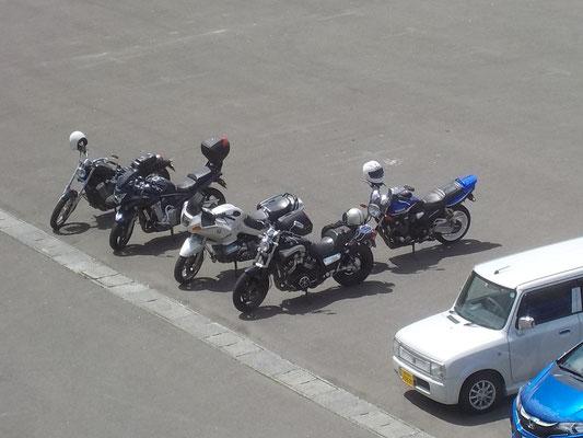 津軽海峡文化館 アルサス駐車場(佐井村)