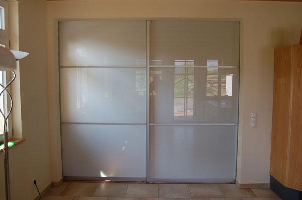 Raumteiler zwischen Küche und Wohnzimmer, ohne Bodenschiene
