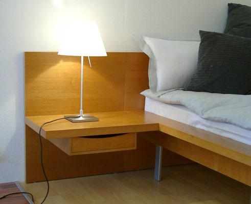 Bett auf Maß gefertigt