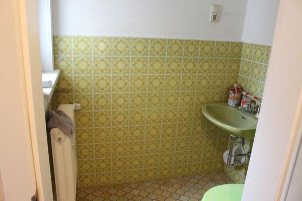 Zukünftigiges Duschbad- klein aber fein