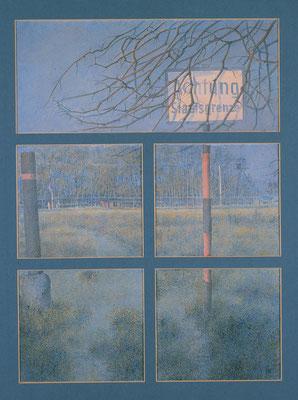 Der Eiserne Vorhang,( The Iron Curtain) 70x50cm