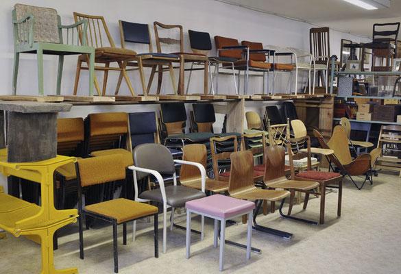 Stühle aller Art