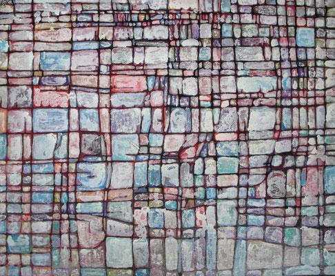 Parcelle 30 2011 Acrylique sur toile 89x 116cm