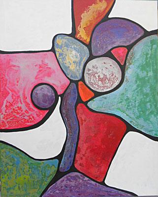 Union 2014 Acrylique sur toile 81 x 65cm