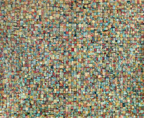 Mosaîque 2017 Acrylique sur toile 300 x 400cm