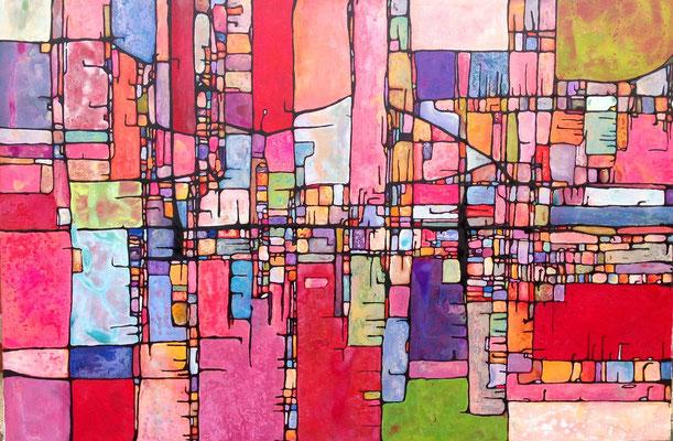 2011 Acrylique sur toile 130 x 195cm