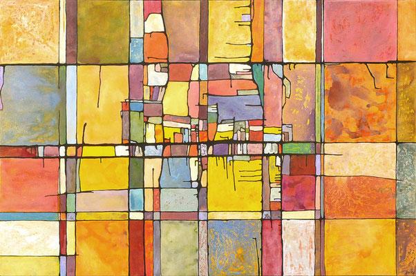 1601NKY11 Acrylique sur toile 130 x 195cm