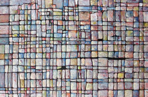L'ecossais 2013 Acrylique sur toile 97 x 146cm