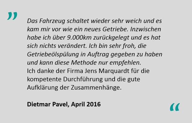 Kundenbewertung Jens Marquardt KFZ Service Lindwedel 1