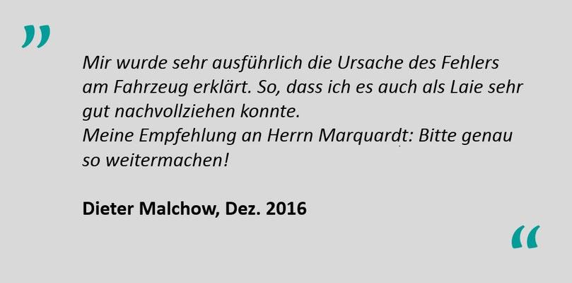Kundenbewertung Jens Marquardt KFZ Service Lindwedel 6
