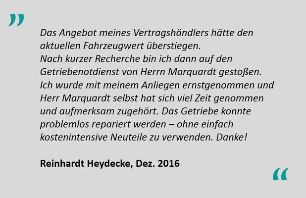 Kundenbewertung Jens Marquardt KFZ Service Lindwedel 3
