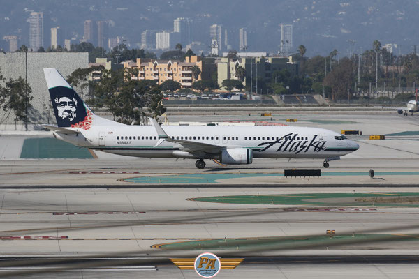 "Boeing 737NG ""Alaska Airlines"" immatriculé N589AS"