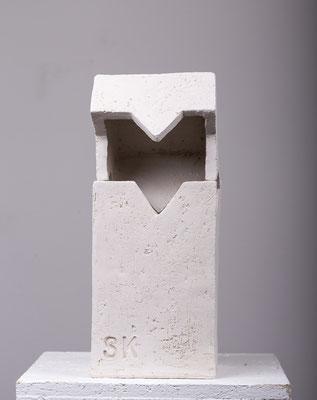 Weiße Keramik, 40 % Schamotteanteil