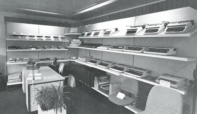 1985 - Angefangen hat alles mit Schreibmaschinen