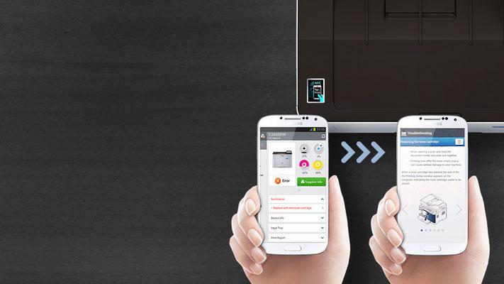 Mobiles Drucken mit maximalen Optionen